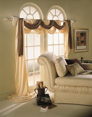 texas hill country drapery hardware selection and