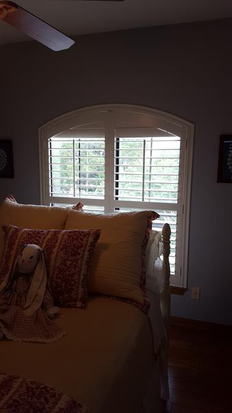 Arched Shutters Installed in Boerne, TX