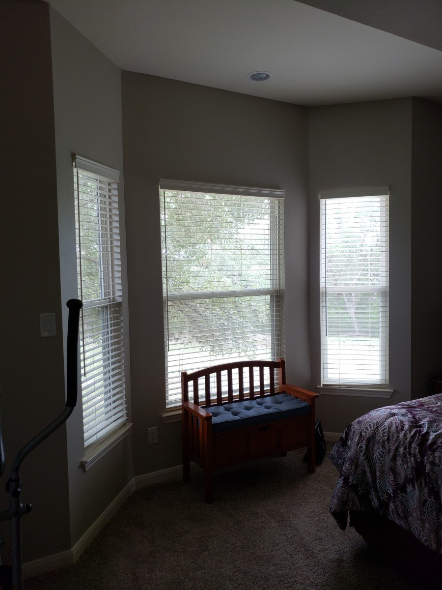 Child Safe Faux Wood Blinds in Spring Branch, TX
