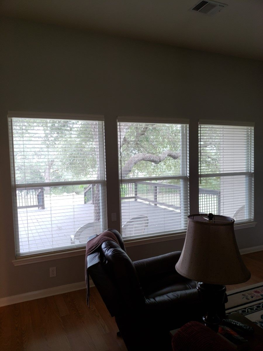 Latest Projects Child Safe Faux Wood Blinds In Spring