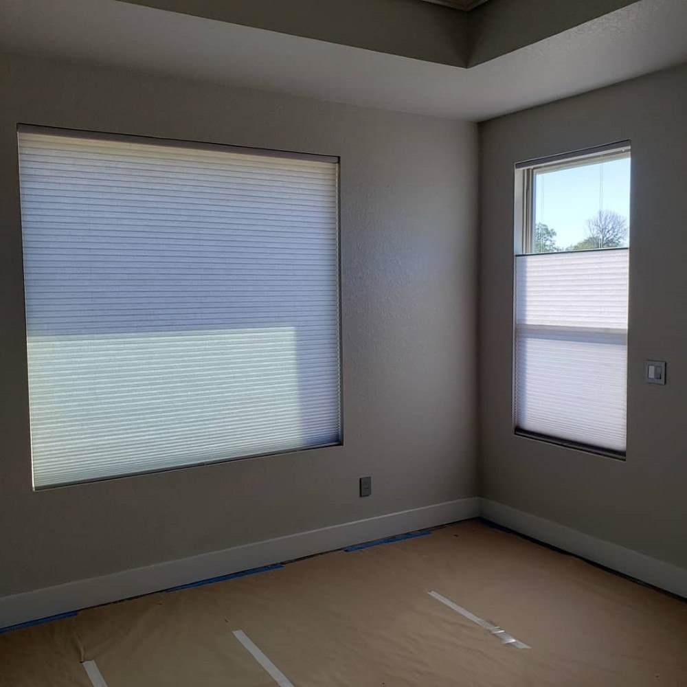 Comfortex Colorlux Cellular shades in Seguin, TX