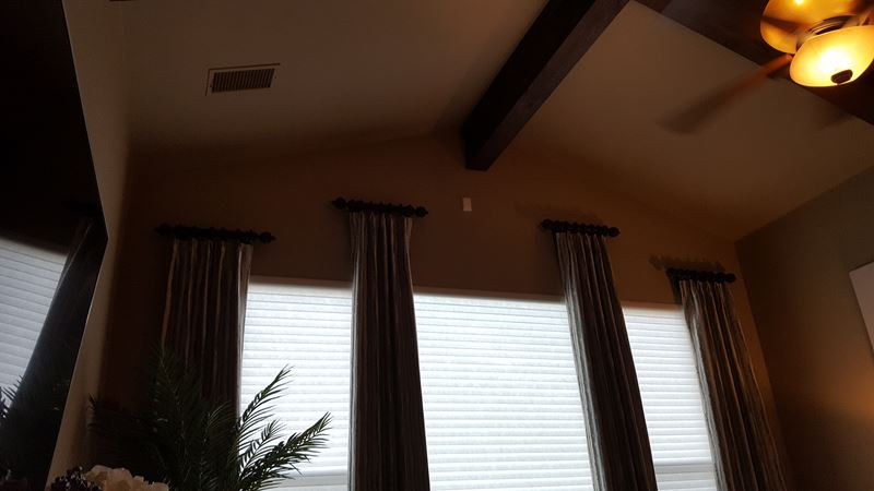 Drapery Installation and Fabrication in Boerne, TX