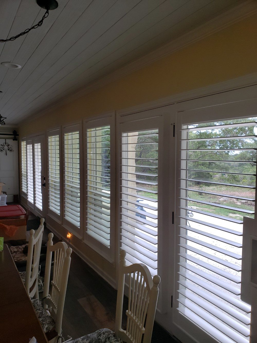 Elegant Broadleaf Shutters Installed in Spring Branch, TX