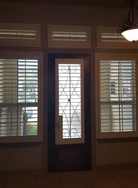 Entry Shutters Installed on Canoe Brook, in San Antonio, TX