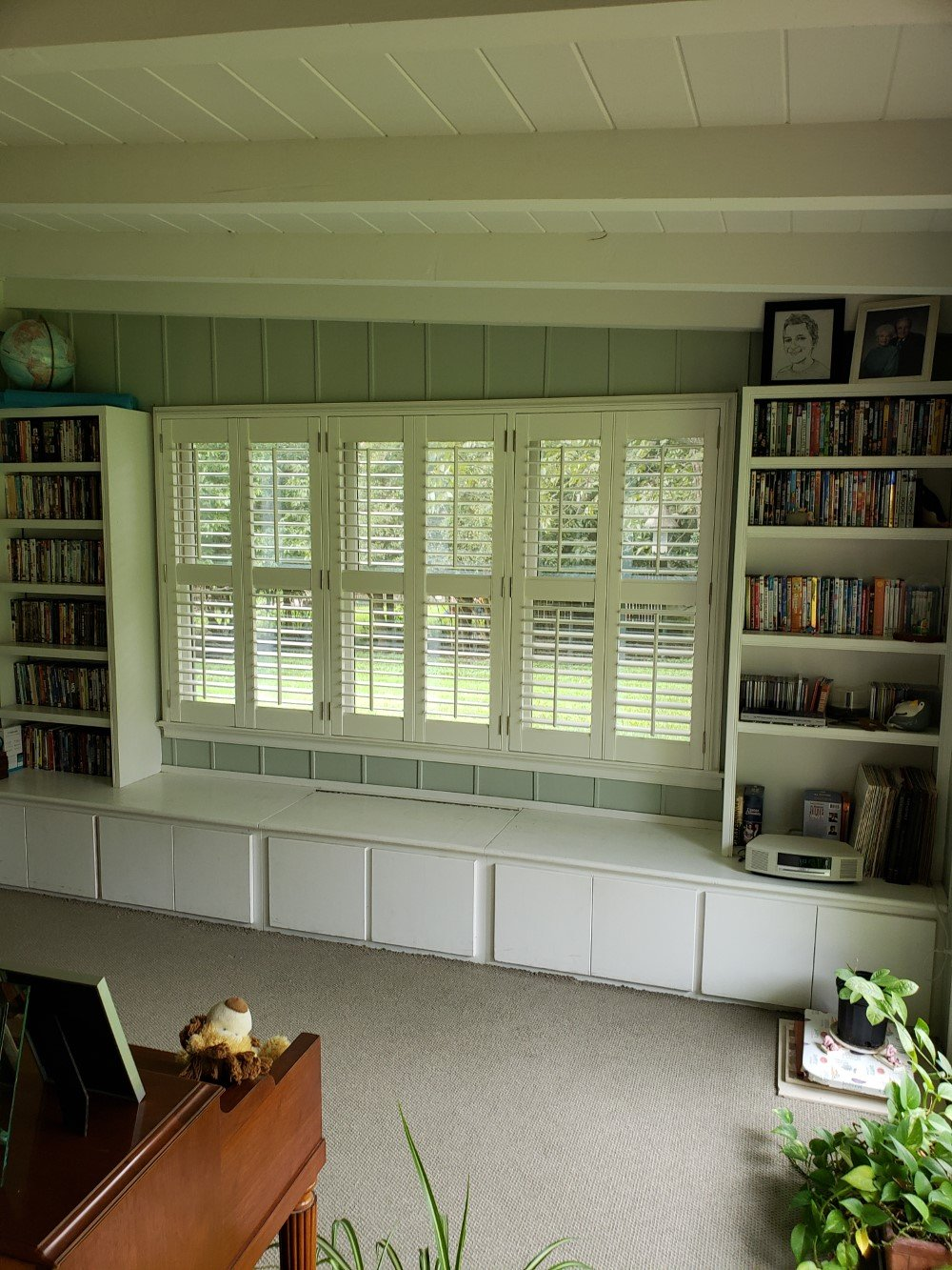Hunter Douglas Top Down/ Bottom Up Duette Cellular shades in Kerrville, TX