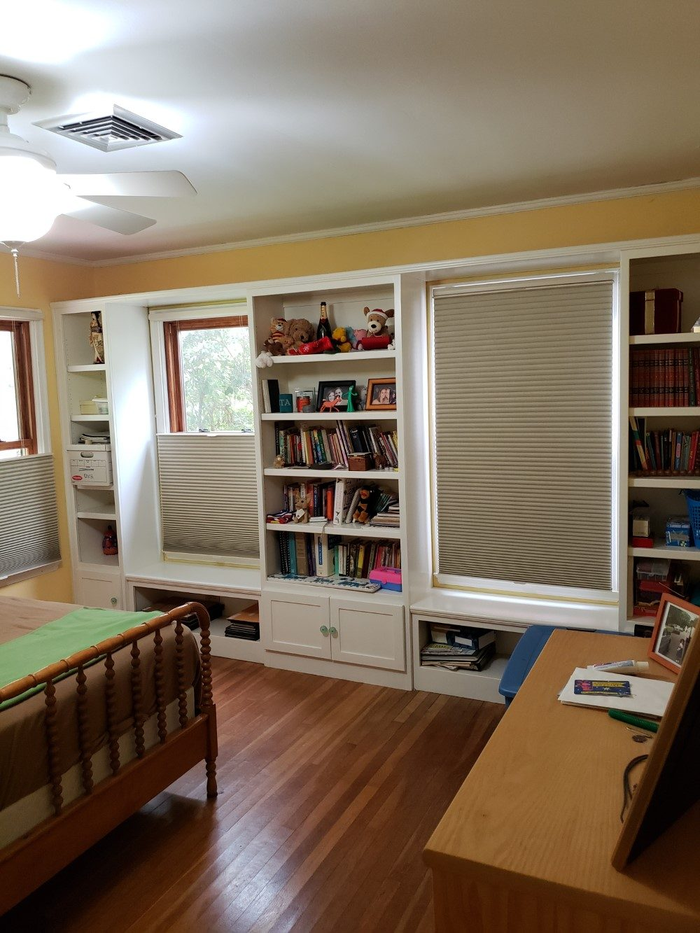 Latest Projects - Hunter Douglas Top Down/ Bottom Up Duette Cellular shades in Kerrville, TX