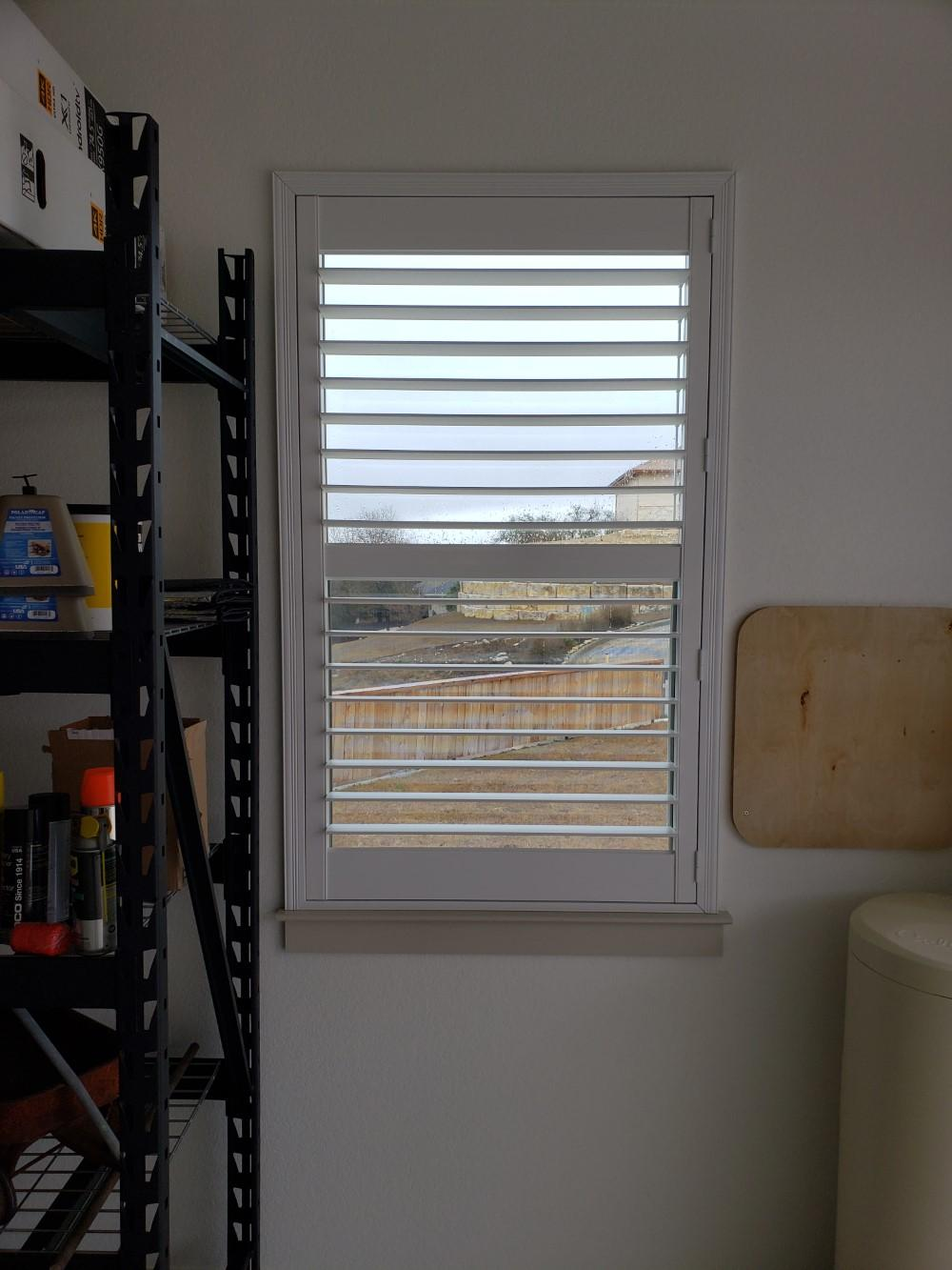 Hunter Douglas New Style Shutters in Kerrville, TX