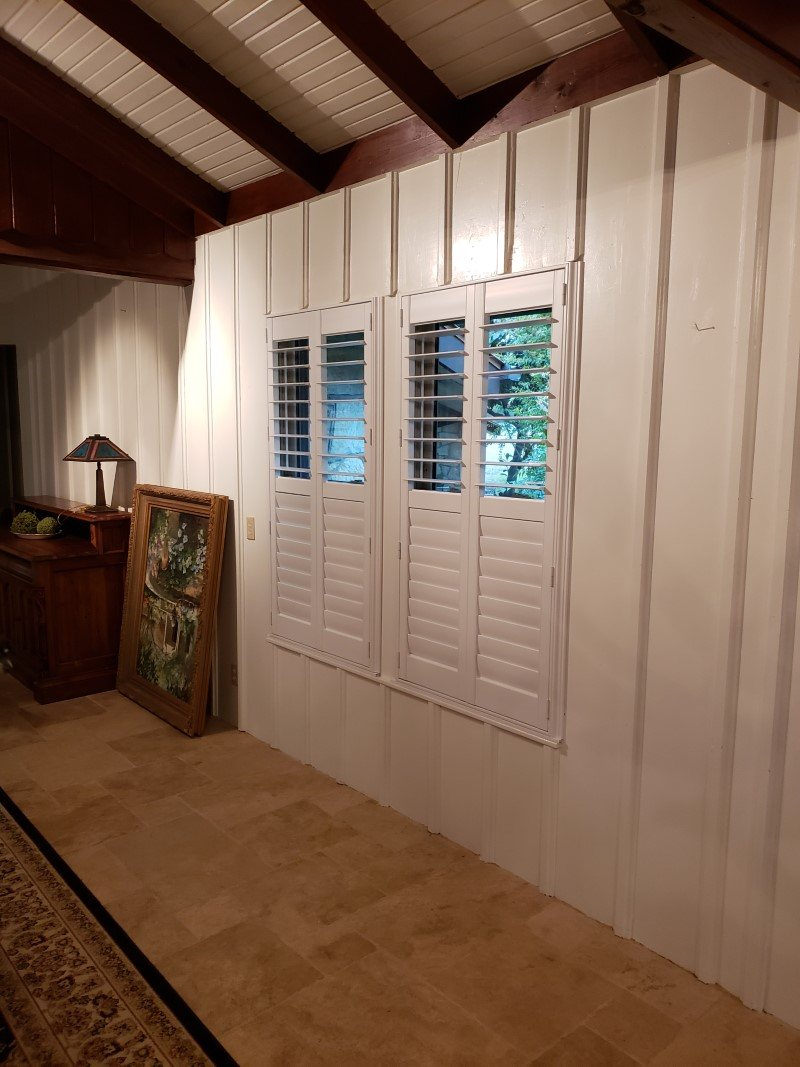 Hunter Douglas Palm Beach Shutters in Camp Verde, TX