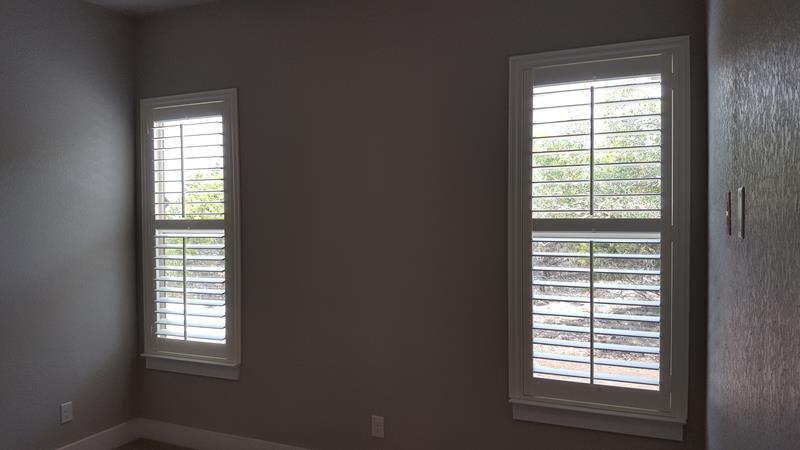 New Home Shutter installation in Spring Branch, TX