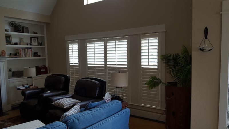 PPainted Interior Wood Shutters in Blanco, TX