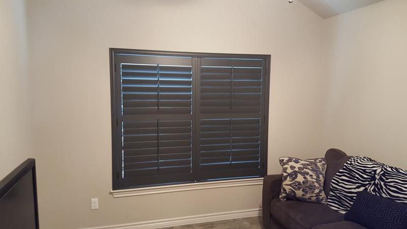 Roller Shades Installed in Bandera, TX