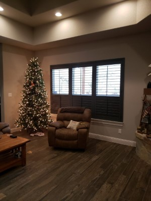 Latest Projects - Elegant Chelsea Painted Wood Shutters in Spring Branch, TX