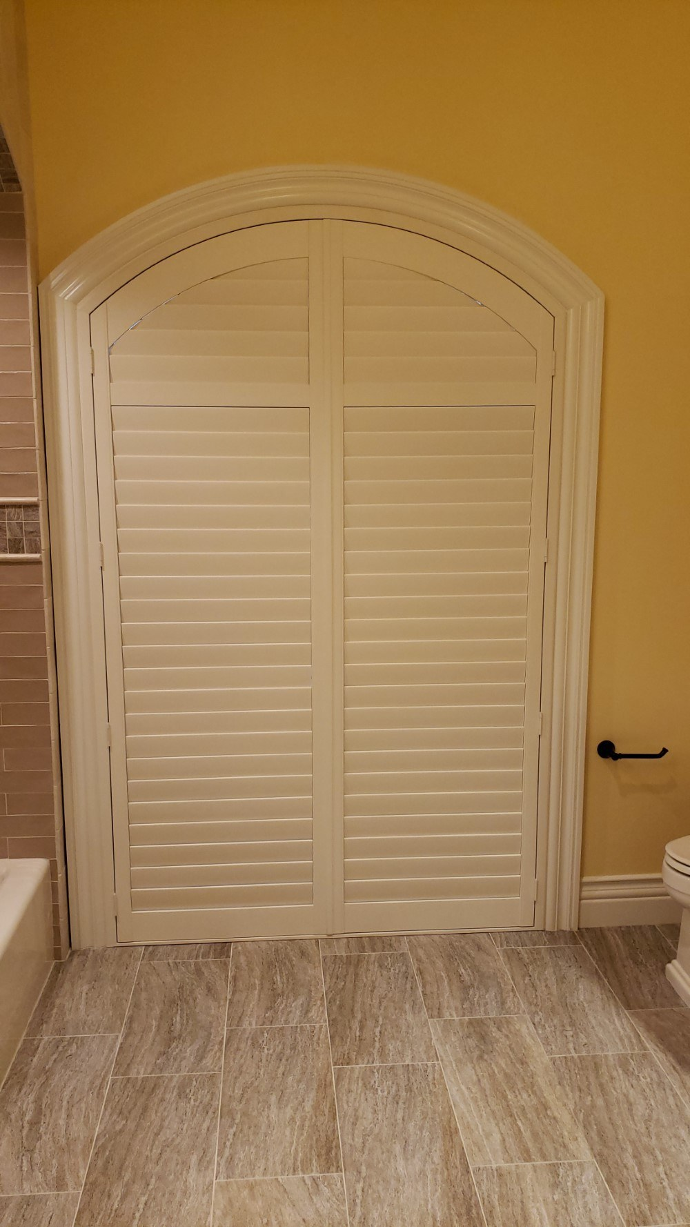 Latest Projects - Elegant Painted Wood Shutters in Shavano Park, TX