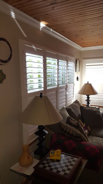 Palm Beach Shutters Installed on Linda Road, in Fredericksburg, TX