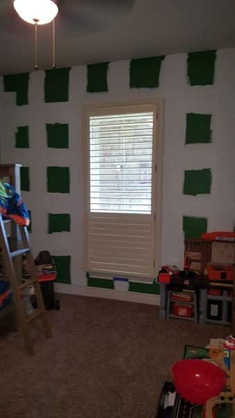 Painted Wood Shutters in Boerne, TX